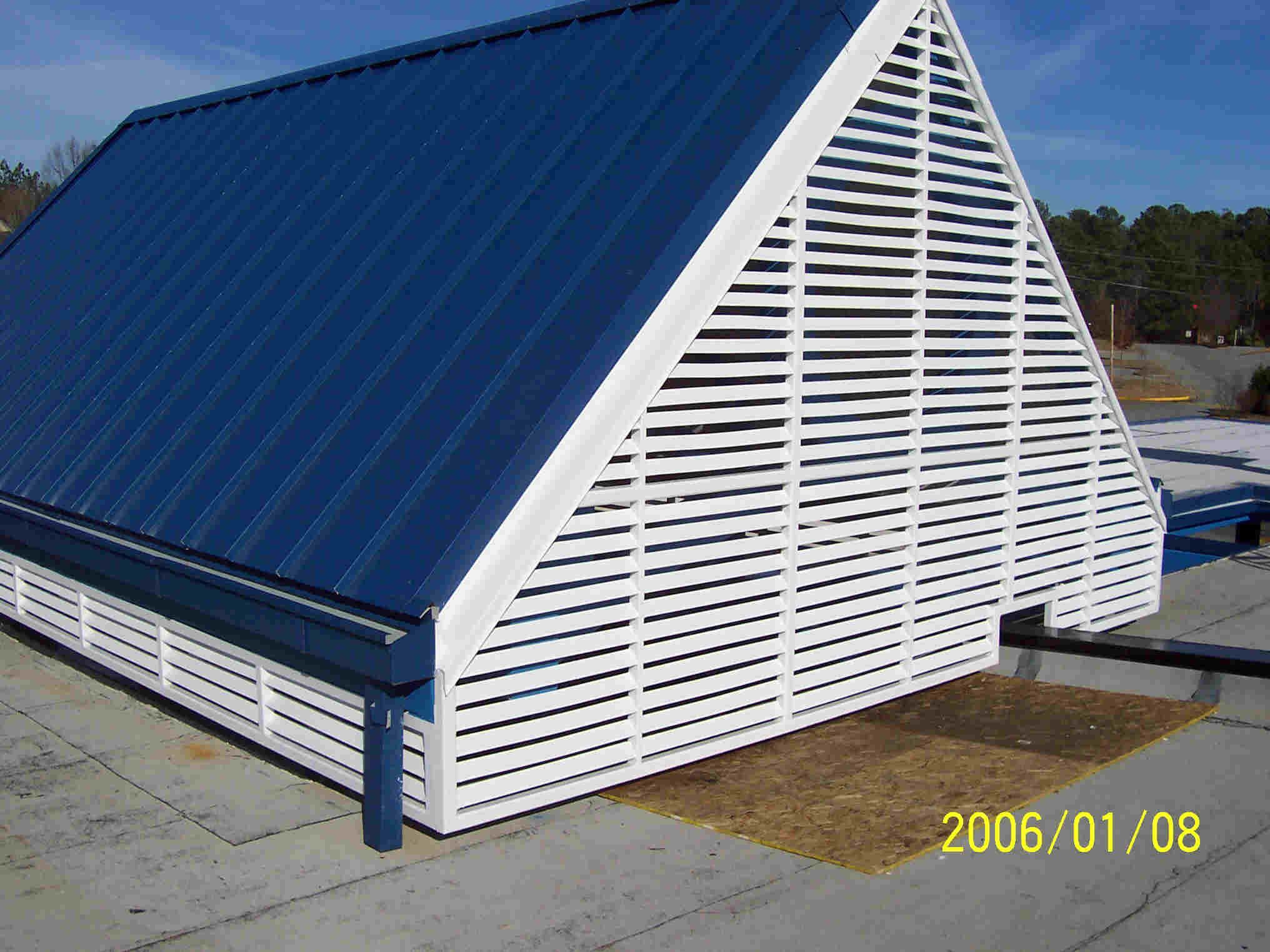 Atlanta Steel Triangle Louvers