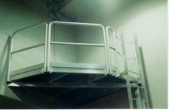 Atlanta Mezzanine, Platforms, Catwalks, Hand Rails, Stairs