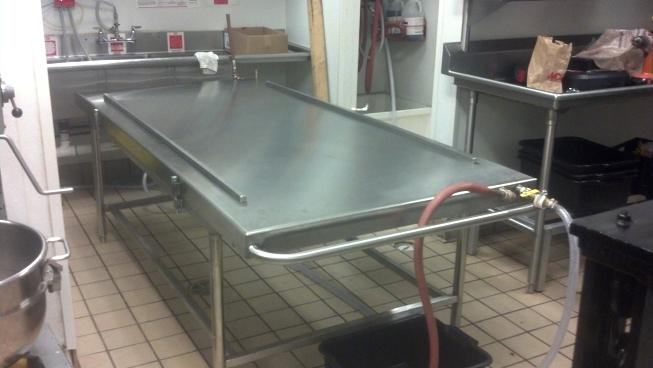 Atlanta Stainless Candy Cooling Table