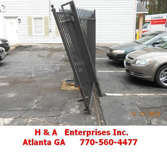 Aluminum Gate Repair on Site Same Day Atlanta