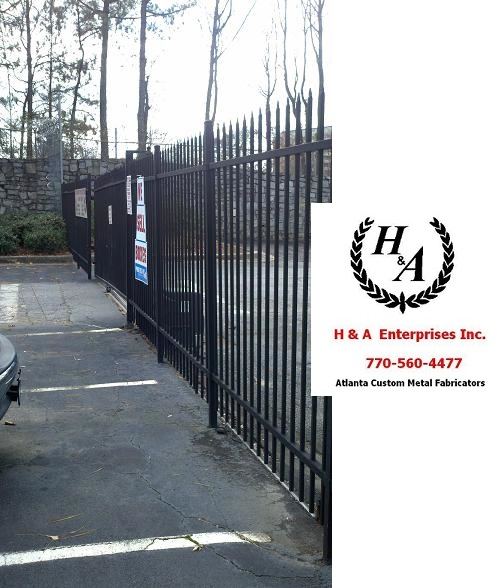 Atlanta Automatic Gate Repair Aluminum Gate Repair on Site Same Day Atlanta, Remote Controlled