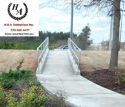Atlanta ADA Aluminum Hand Rails