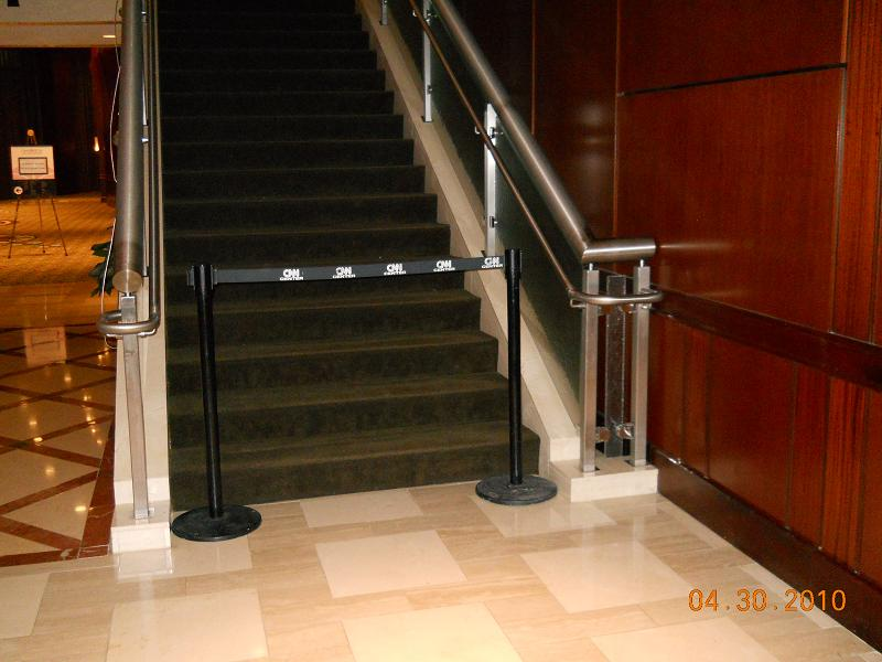 Polished Stainless Hand Rail Atlanta Aluminum Hand Rails